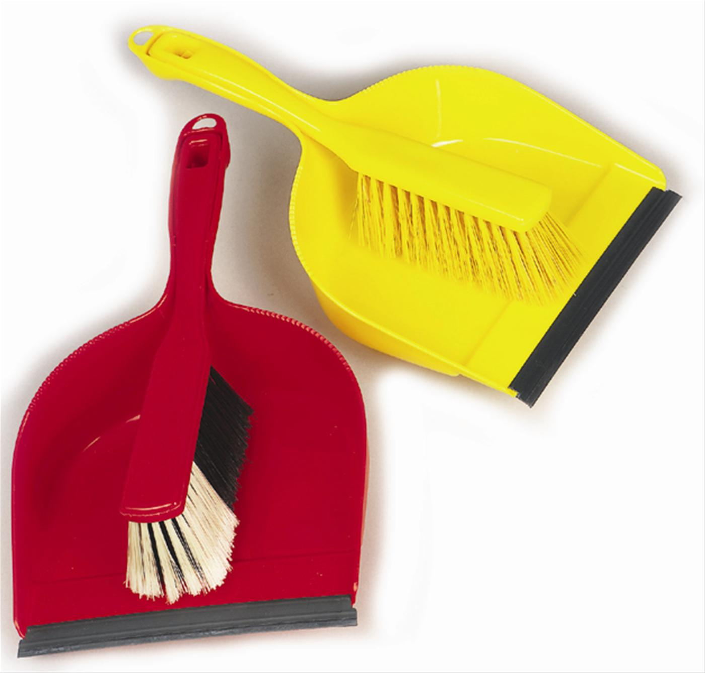 Open Dustpan & Brush