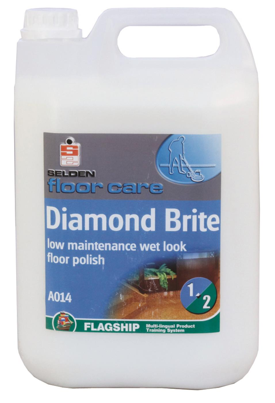 Diamond Brite Floor Polish 2 x 5L