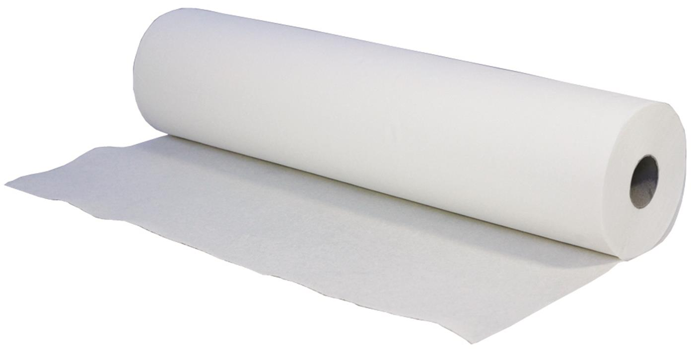 Luxury 2 Ply White Premium Couch Rolls 50cm x 46m