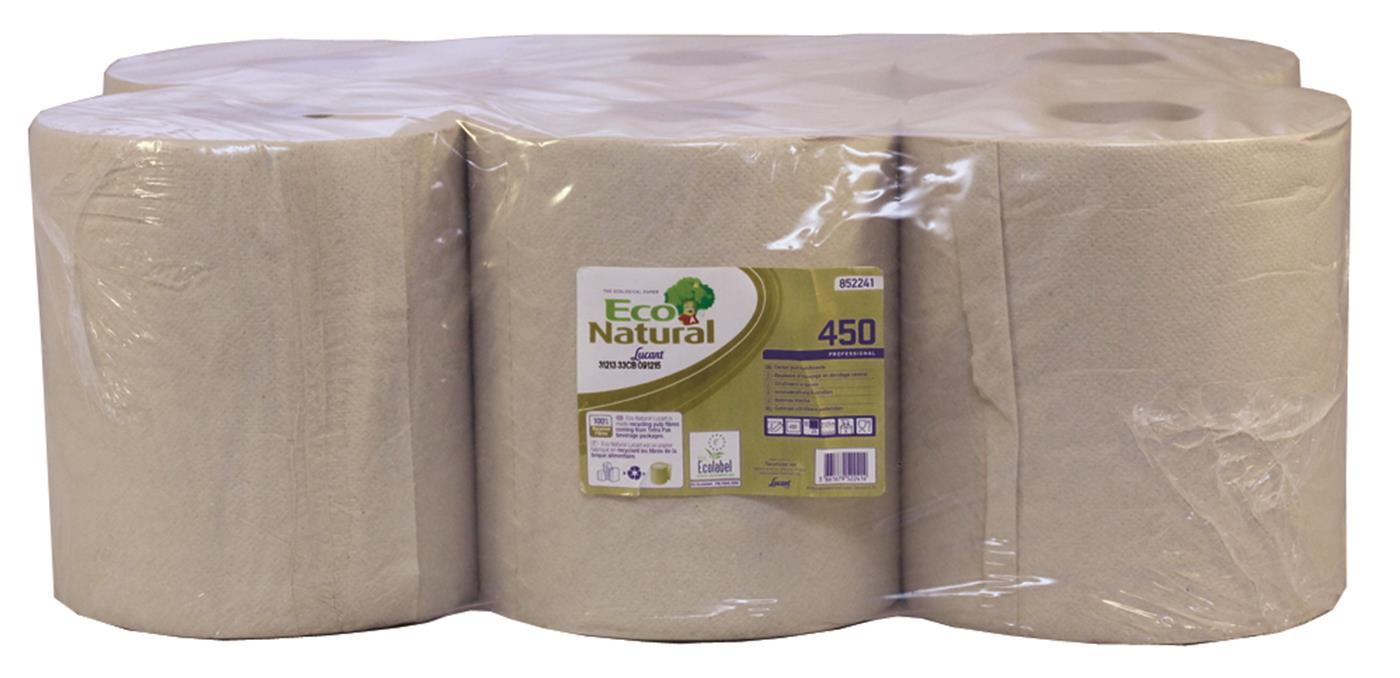 Lucart EcoNatural 2 Ply Centrefeed Roll