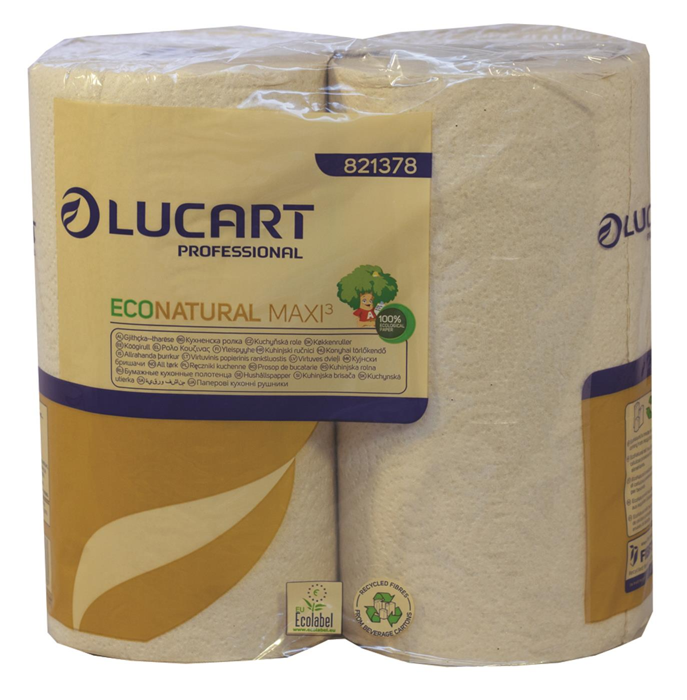 Lucart EcoNatural Maxi Kitchen Rolls