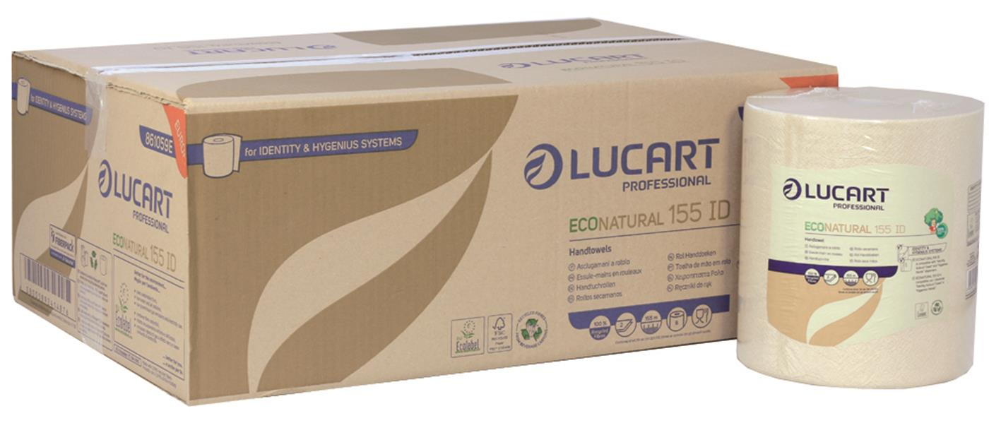 Lucart IDENTITY EcoNatural 2 Ply Havana Roll Towel