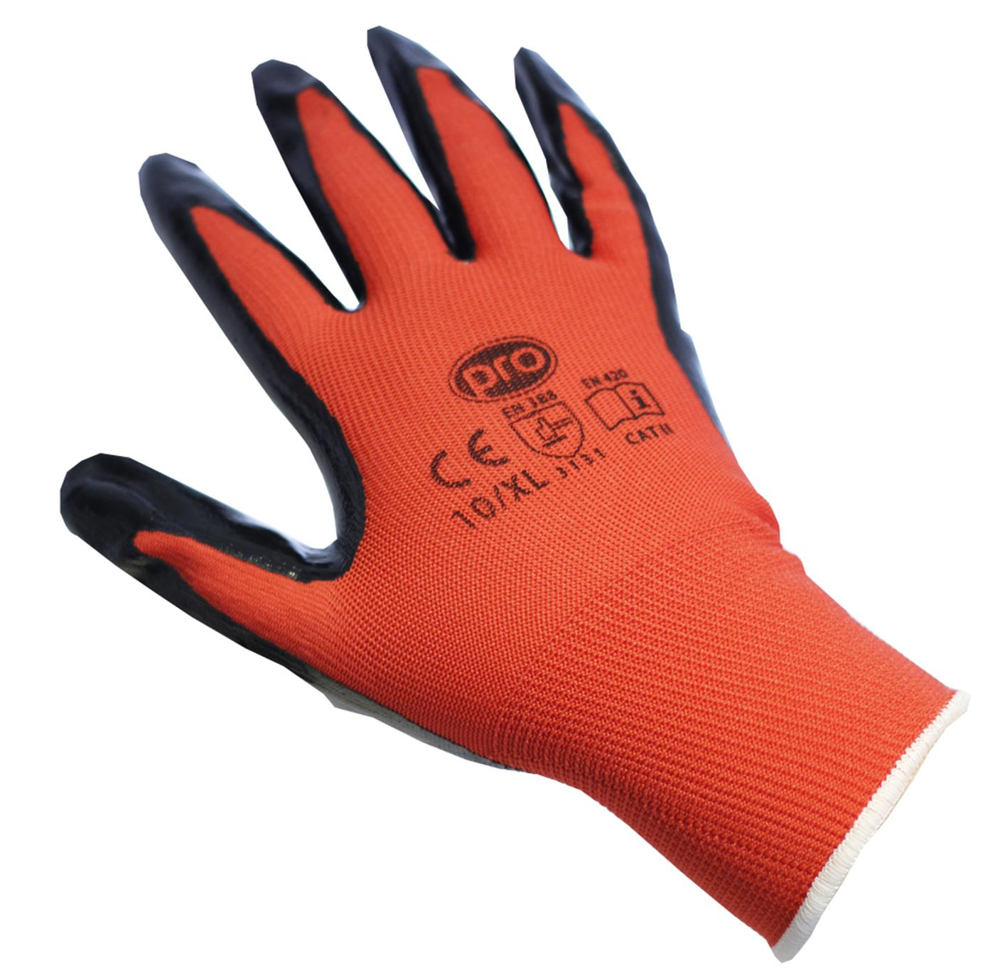 Inspection Gloves Nitrile Coated