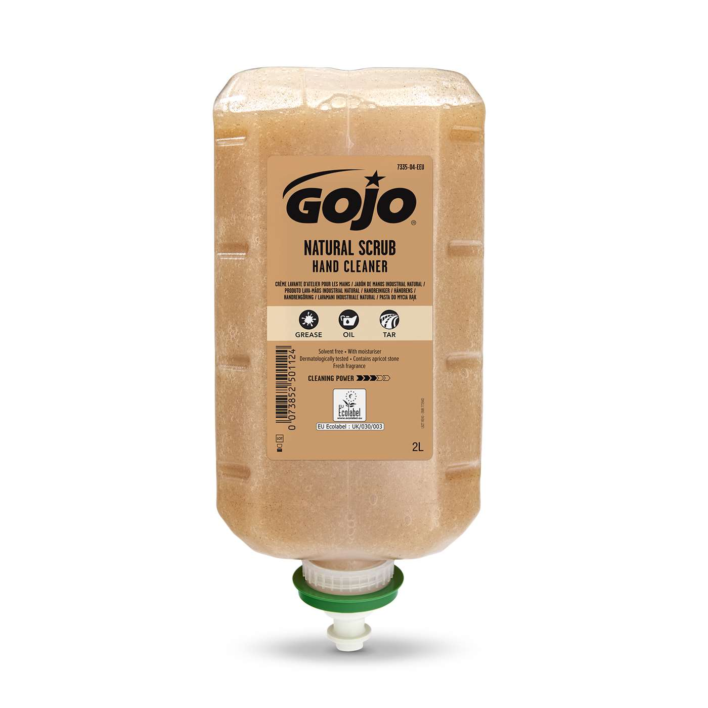GOJO Natural Scrub Hand Cleaner 2000ml TDX