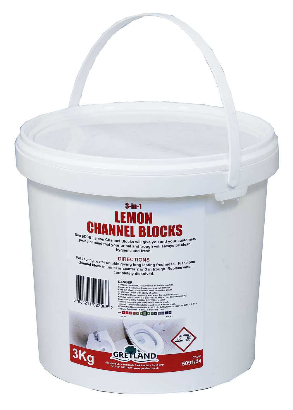 PRO Lemon Channel Blocks