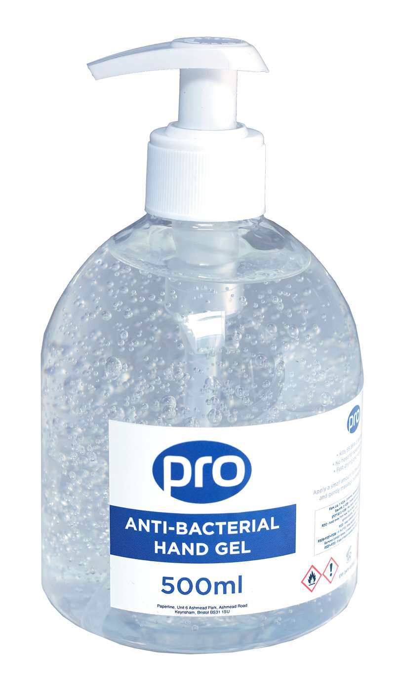 PRO Anti-bacterial Hand Gel
