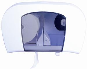 Coreless Toilet Roll Dispenser for 2 Rolls