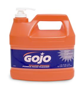 GOJO Natural Orange Hand Cleaner 3780ml Pump Bottle