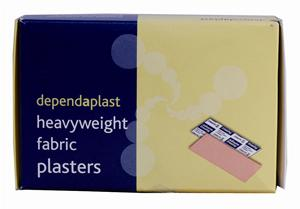 Fabric Plasters Assorted Shapes and Sizes