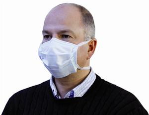 Pleated Surgical Mask with Ties