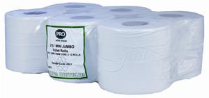 PRO Mini Jumbo Toilet Rolls 200m (76mm Core)