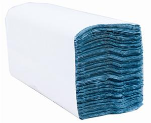 Satino Green 1 Ply Recycled C-Fold Paper Towels