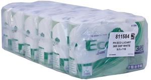 Lucart Eco 2 Ply Toilet Rolls 320 Sheet