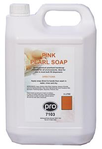 PRO Pink Pearl Lotion Soap 5L