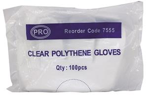 Disposable Polythene Gloves in Bags