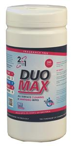 DuoMax Sanitization Wipes