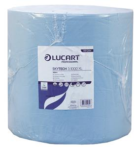 SkyTech Blue Wiping Roll 3 Ply Recycled 35.5cm x 360m