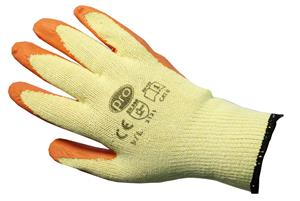 PRO Orange Gripper Gloves