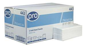 C-Fold White 2 Ply Paper Towels 2295 per case