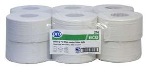 PRO Mini Jumbo Toilet Rolls 150m (76mm Core)